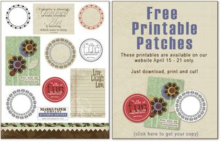 Printable patches ad sm