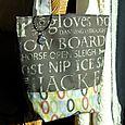 Winter Wrap Tote Bag